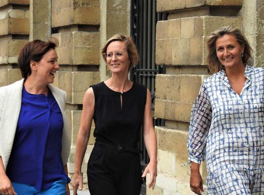 Yngvild Ingels, Frieda Gijbels en Kathleen Depoorter