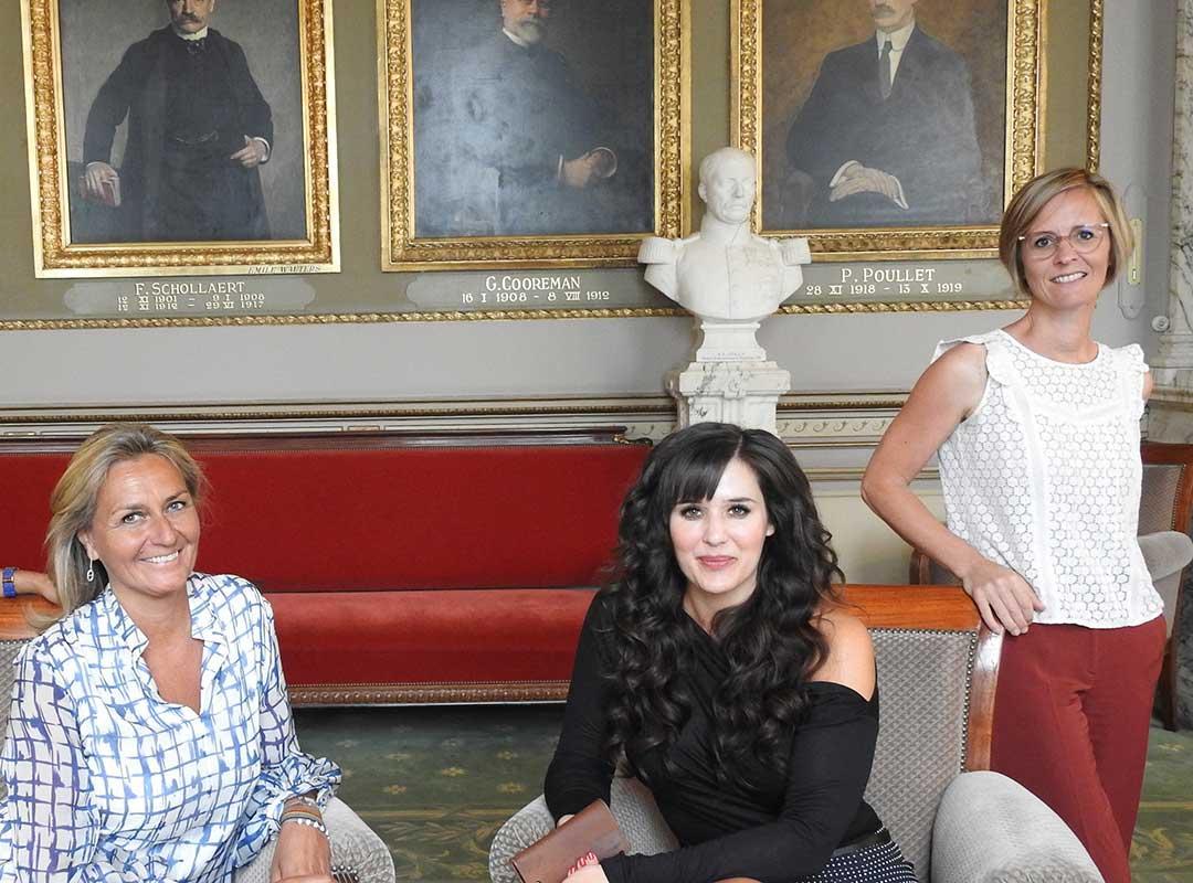 Frieda Gijbels, Yoleen Van Camp, Kathleen Depoorter